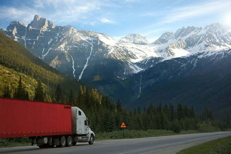 motor cargo truck